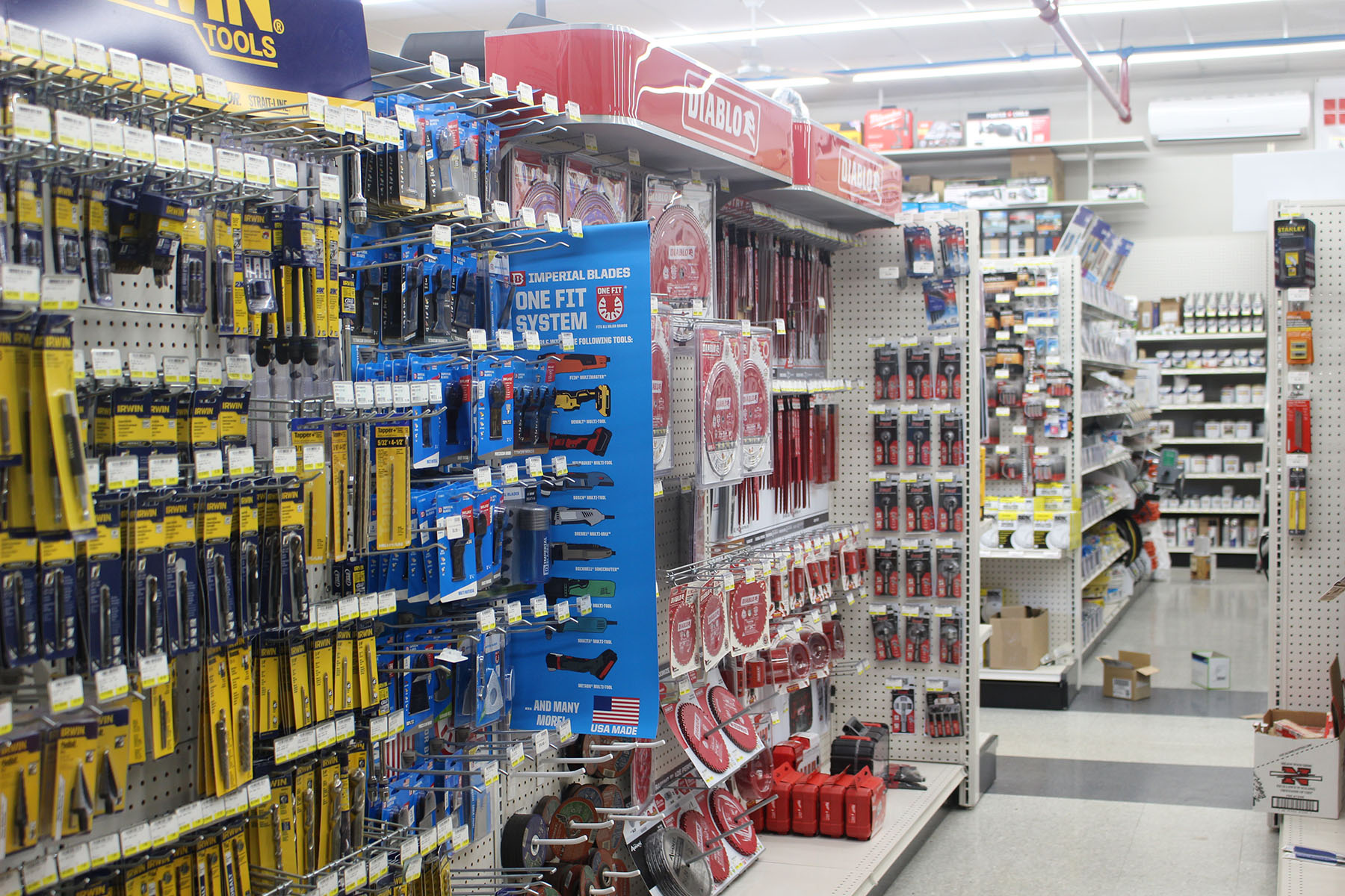 Industrial Tools Aisle