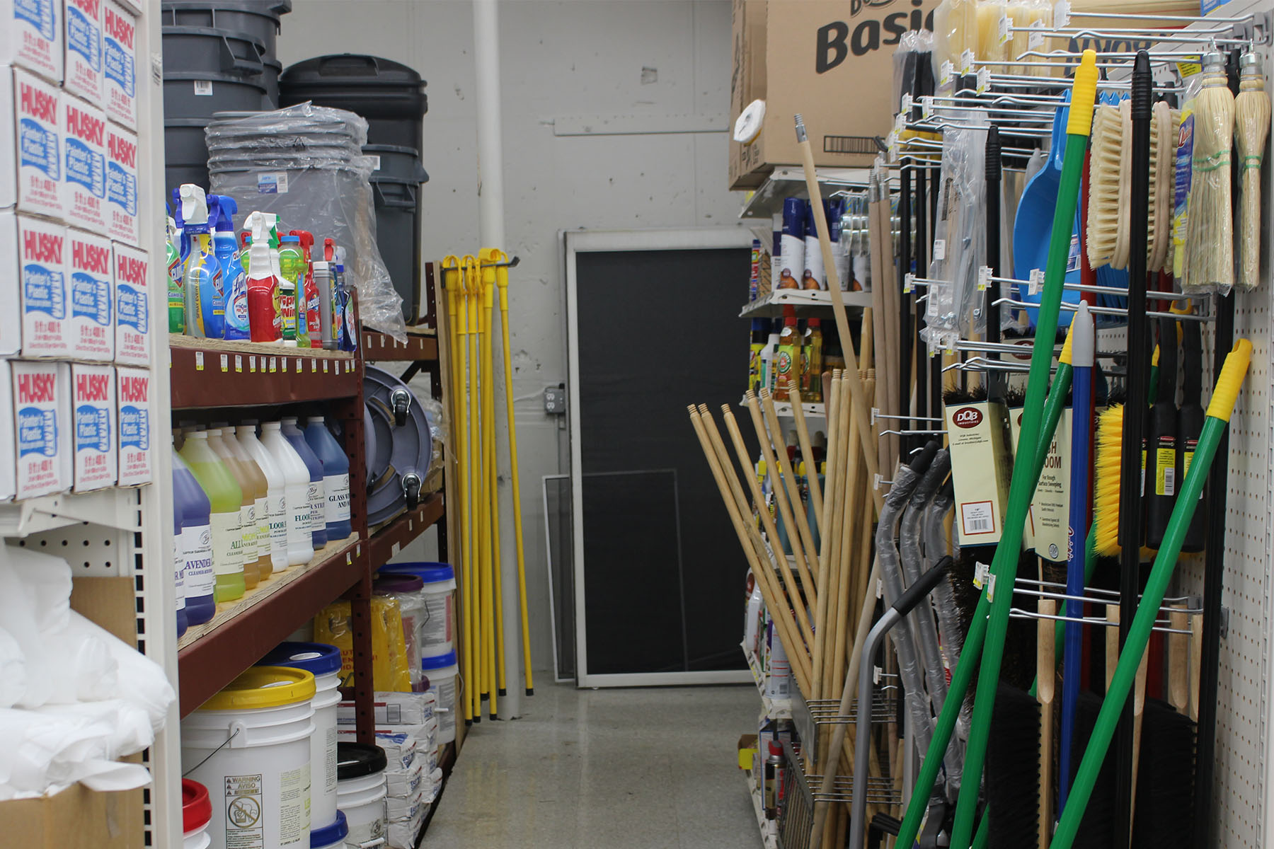 Janitorial Aisle